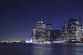 New York City & Lady Liberty Royalty Free Stock Photo
