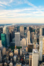 New York City Manhattan skyline Royalty Free Stock Photo