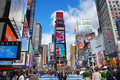 New York City Manhattan Times Square Stock Images