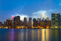 New york city manhattan usa Stock Photography