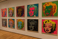 New York City MOMA Andy Warhol, Marilyn Monroe Pop Art Royalty Free Stock Photo