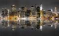 New York City night view