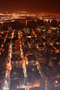 New York City (nyc) at night Royalty Free Stock Photo