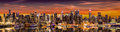 Photo : New York City panorama modern  wearing