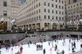 New York City Rockefeller Center Christmas Royalty Free Stock Image