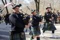 New York City Saint Patrick`s Day Parade Royalty Free Stock Photo