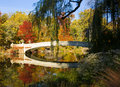 New York City Central Park in Autumn Royalty Free Stock Photo