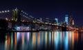 Nový město v noci