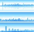New York City skylines Royalty Free Stock Photo