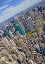 New york city skyscapers in united state of america Royalty Free Stock Photos