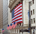 New York City Stock Exchange Royalty Free Stock Photo