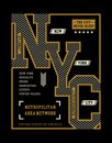 New York City T-shirt Graphic, Vector Images