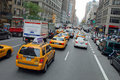 The New York City Taxi Stock Image