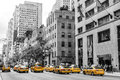 New York City Taxi Streets USA...