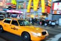 New York City Taxi, yellow cab Royalty Free Stock Photography