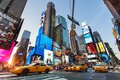 New York city, Time square by night Royalty Free Stock Photo