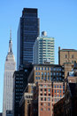 New- York CitySkyline Stockbilder