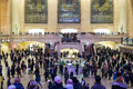 New york de v s november binnenland van grand central statio Royalty-vrije Stock Afbeelding