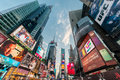 New York - DECEMBER 22, 2013: Times Square on December 22 in USA Royalty Free Stock Photo