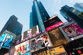 New york december times square on stock photography concept for usage Stock Photo