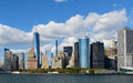 New York Financial District Royalty Free Stock Photo