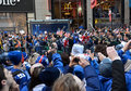 New York Giants Victory Parade Stock Photos