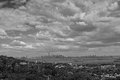 New york incredible view on city from staten island Royalty Free Stock Photo