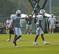 New york jets training camp Stock Photography