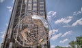 New york may columbus circle pictured on may in new it is the center of the city since it was completed it is hosting the Stock Photo