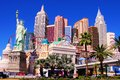 New york new york las vegas Images libres de droits