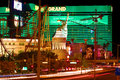 New york new york and mgm grand las vegas usa may the hotel casinos in las vegas the opened in the Stock Photo