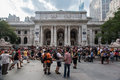 New York Public Library Stock Photography