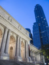 New York Public Library - Manhattan Royalty Free Stock Images