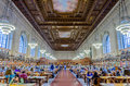 New york public library may is one of the largest in north america may in manhattan city Royalty Free Stock Photos