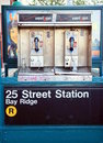 New York Public Phones Stock Photo