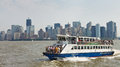New york sep ny waterway ferry transports passengers new york across hudson river to new jersey september new york ny waterway Stock Photos