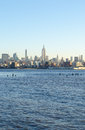 New York Sky Line Royalty Free Stock Photo