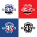 New York Sporting Typography, ...