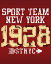 New York sports team Stock Images