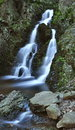 New York State Secluded Waterfall Stock Photos