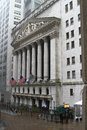 New york stock exchange Fotografia Stock Libera da Diritti