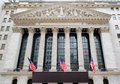 The New York Stock Exchange at Wall Street in New York Royalty Free Stock Photo