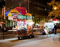 New York street vendor Royalty Free Stock Photos