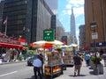 New York Streets Royalty Free Stock Photo
