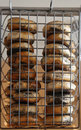 New York style poppy seeds bagels Royalty Free Stock Photo