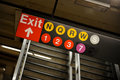 New York subway Royalty Free Stock Photography