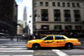 New York Taxicab Royalty Free Stock Photography