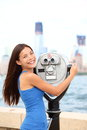 New York tourist Stock Photo