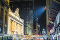 New york us november eingang zu grand central statio Lizenzfreie Stockbilder