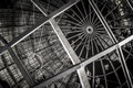 New york world s fair unisphere in flushing meadows at night Stock Photography